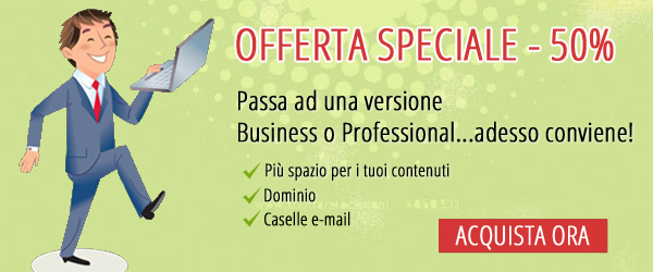 1 Minute Site - Offerta Speciale