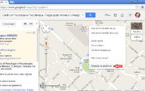 Creare un sito web - google map