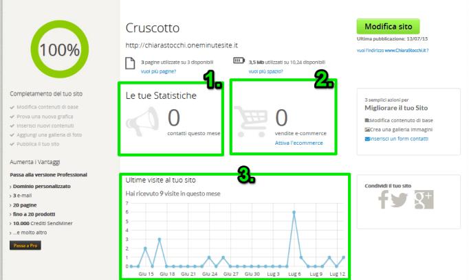 come monitorare un sito web
