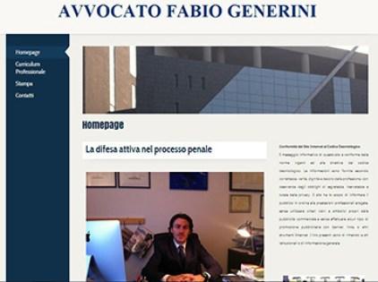 esempio di sito per avvocati