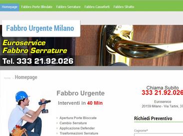 sito web fabbro