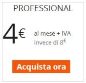 Versione Professional - 1 Minute Site