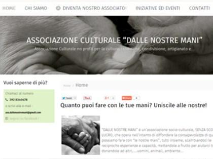 esempio di sito per associazione