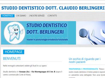 grafica sito web per dentisti
