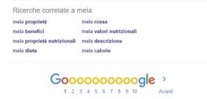 ricerche correlate google