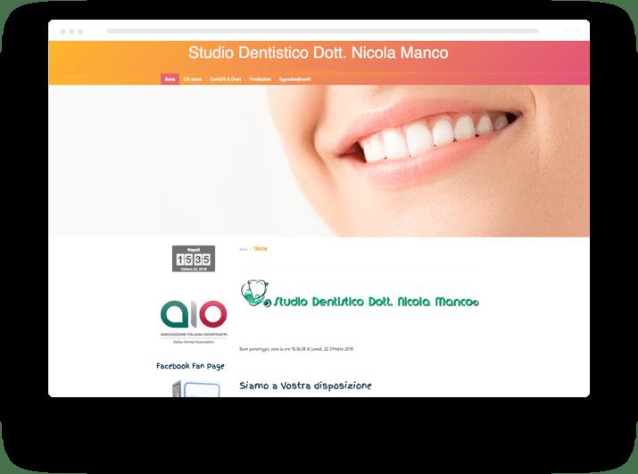 creare un sito per odontoiatra