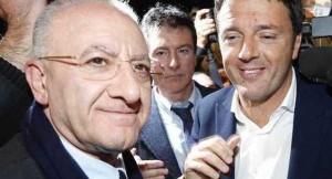 De Luca e Renzi