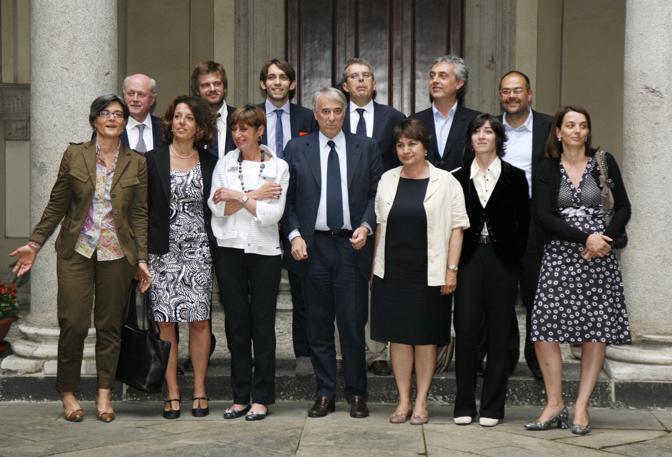 2011 MILANO - PRESENTAZIONE DELLA NUOVA GIUNTA DEL COMUNE DI MILANO
