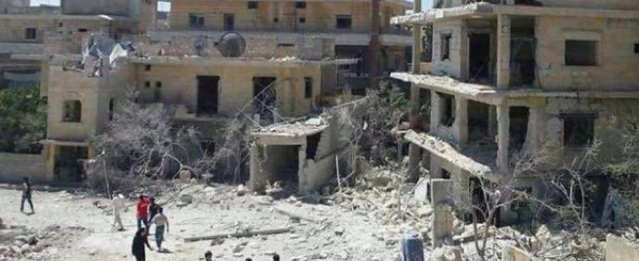 Ospedale di Idlib in Siria