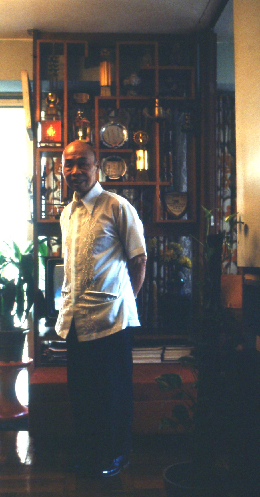 chan hon chung in his country house