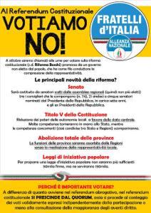 Le balle di Fratelli d'Italia sul referendum