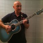 Alberto Biraghi with his Ovation 1982