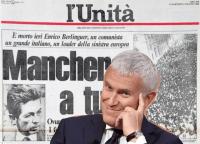 Maurizio Belpietro firma l'Unità