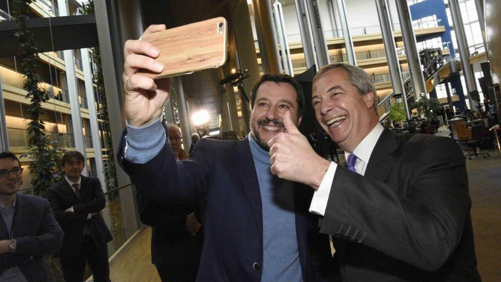 Brexit: Farage con Salvini