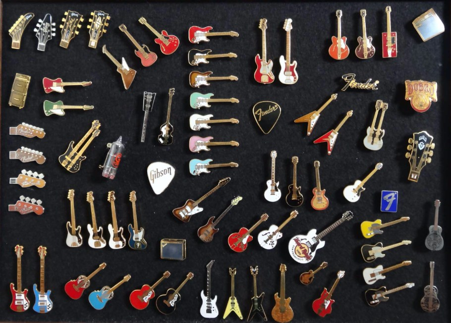 Guitar Pins Paul C'