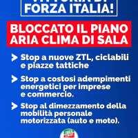 Per Forza Italia Milano il disastro ambientale è una vittoria