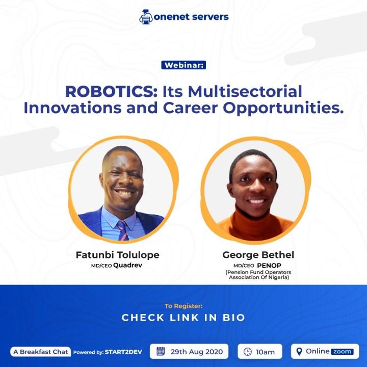 ROBOTICS ONENET servers