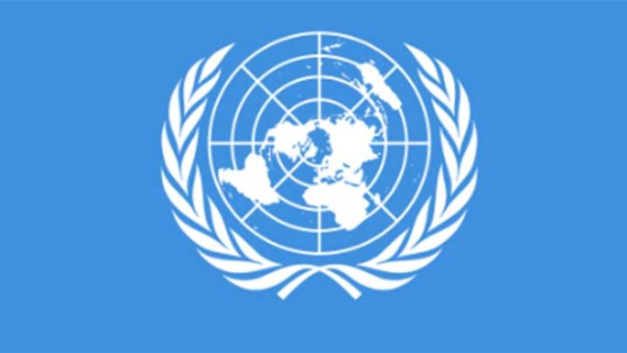 united nation - un logo