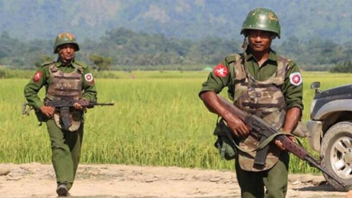barma army