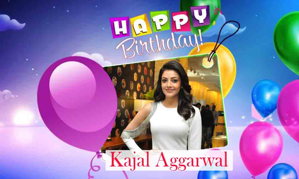 Happy Birthday Kajal Aggarwal