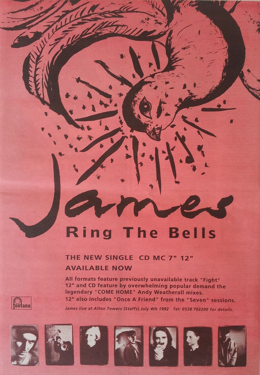 One Of The Three   Ring The Bells- The James Band Archive