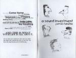 Fanzine: A Sound Investment - Issue 4