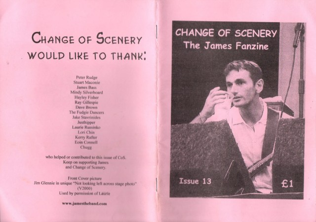 Fanzine: Change Of Scenery - Issue 13