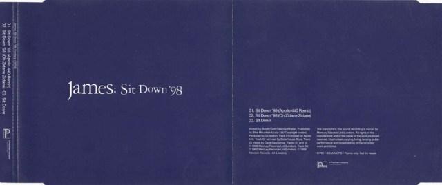 Promo CD Sit Down '98