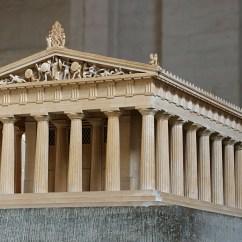 Greek Architecture Diagram Beaver Skeleton Early