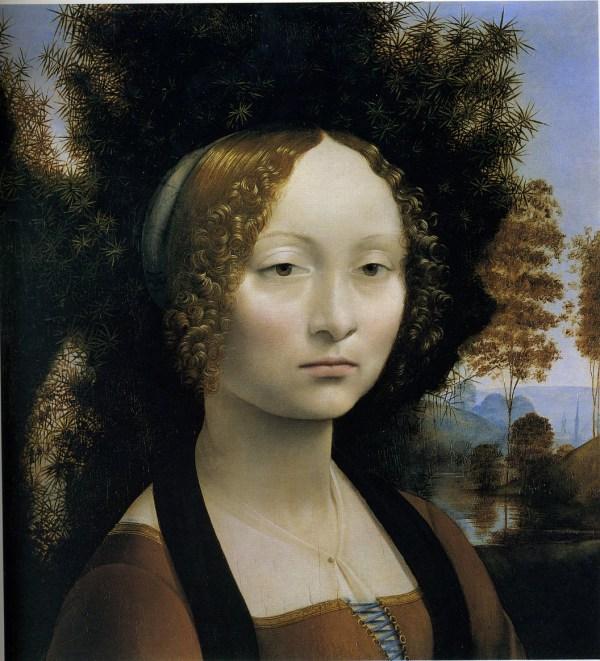 Leonardo Da Vinci Portrait Paintings