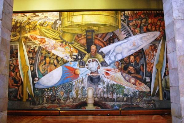 Diego Rivera Rockefeller Mural