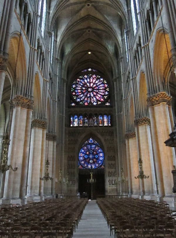 Nave Reims Cathedral