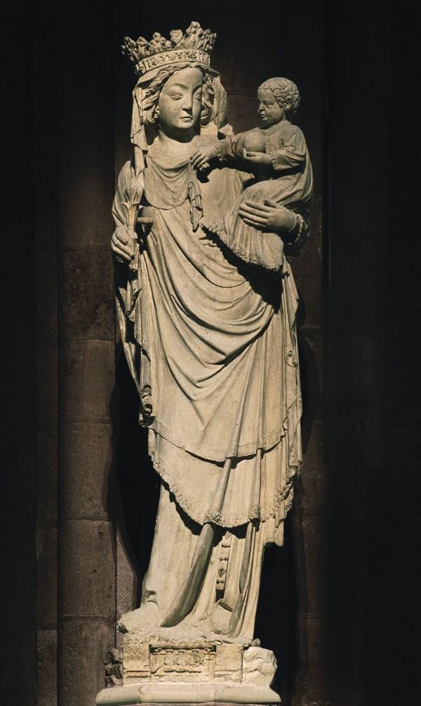 Notre Dame Paris Virgin and Child
