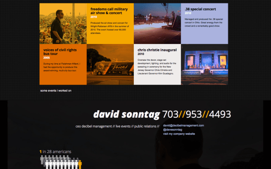 dave sonntag one page websites