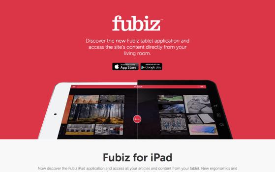 fubiz For tablets