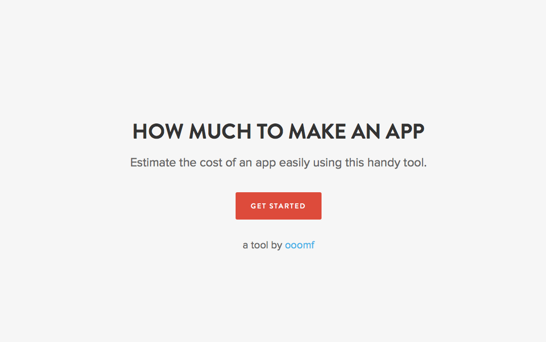 how much to make an app site