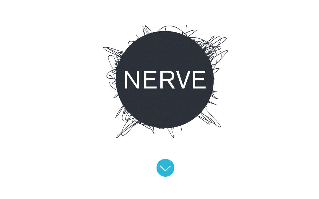 nerve collective - showcase the work we've done for our clients using virtual layers to help differentiate the projects themselves from the project descriptors and goals.