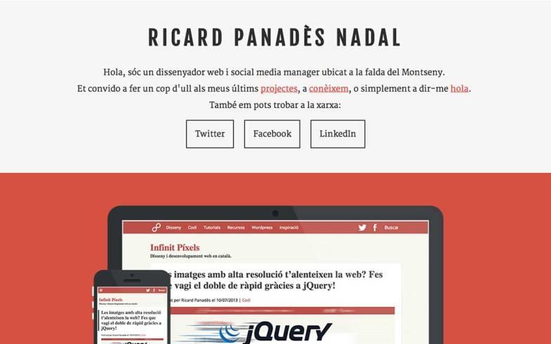 Ricard Panadès Portfolio