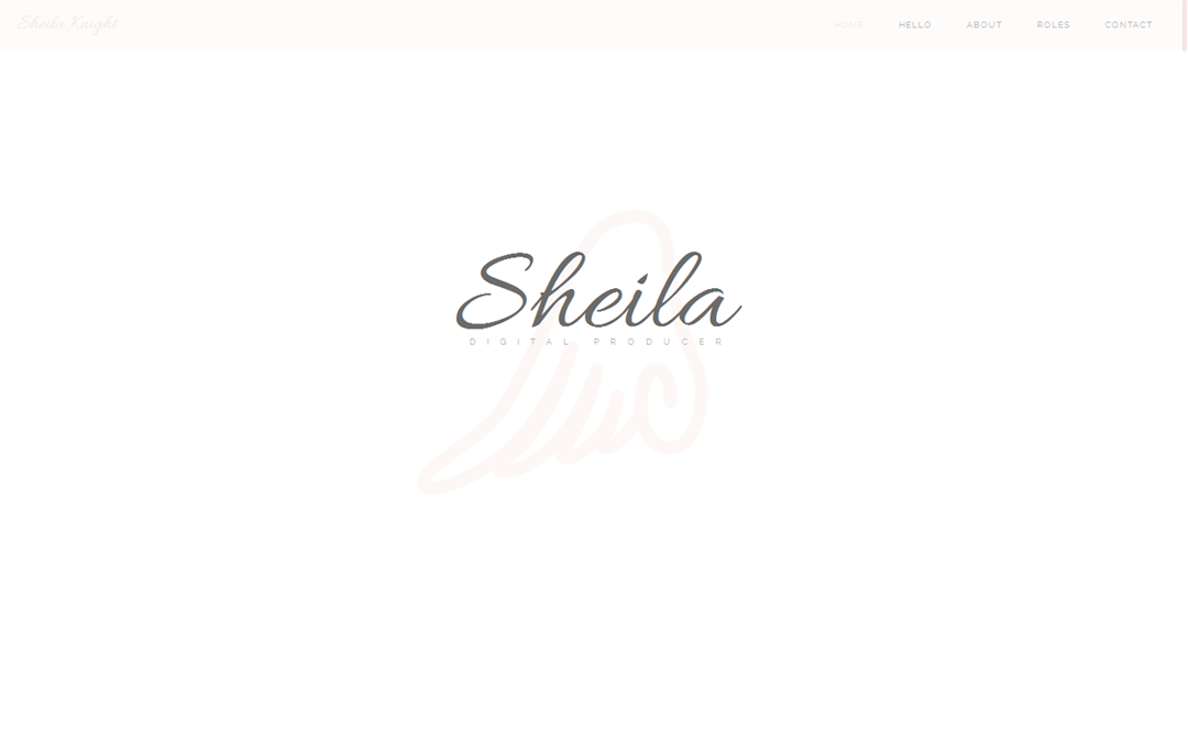 Sheila Knight one pager