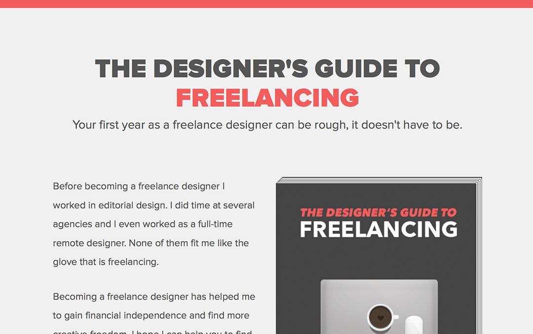 Designers guide to free-lancing