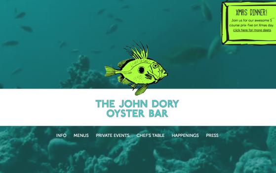The John Dory Oyster Bar New York