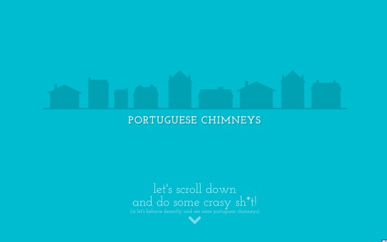 single page chimney website