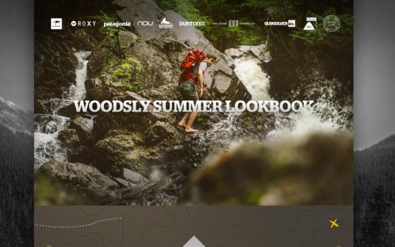 landing page outdoor company