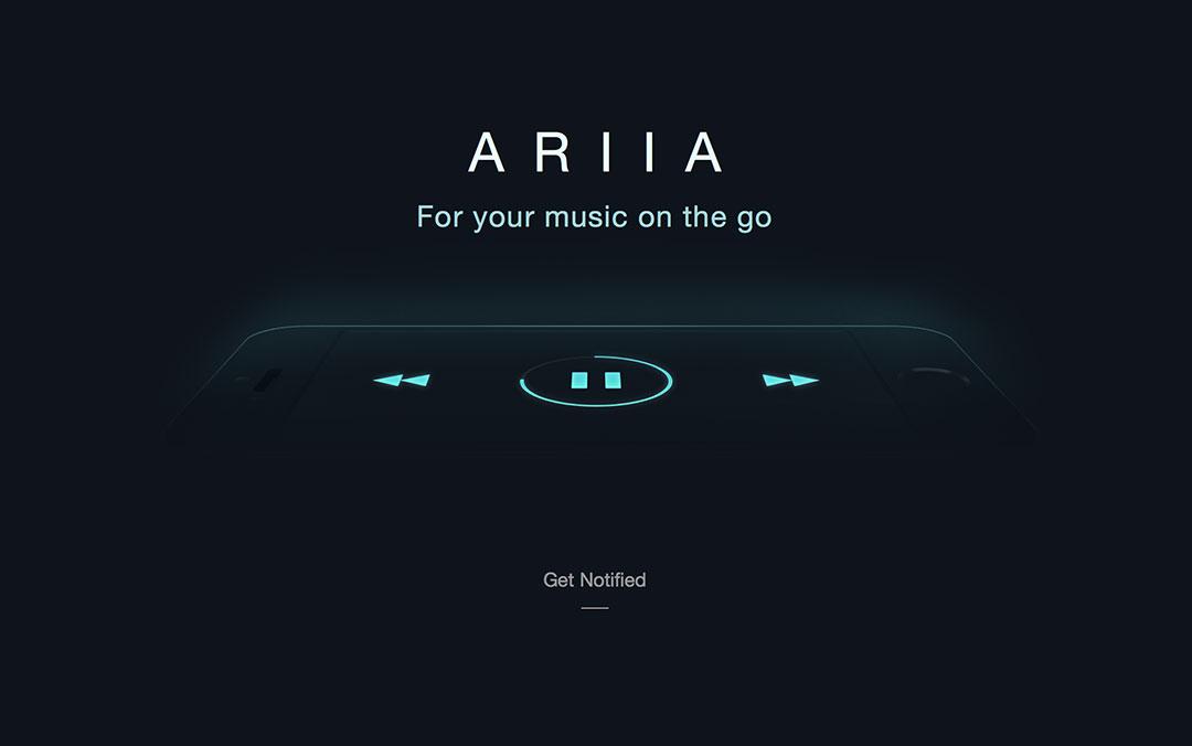 ariia mysterious music website
