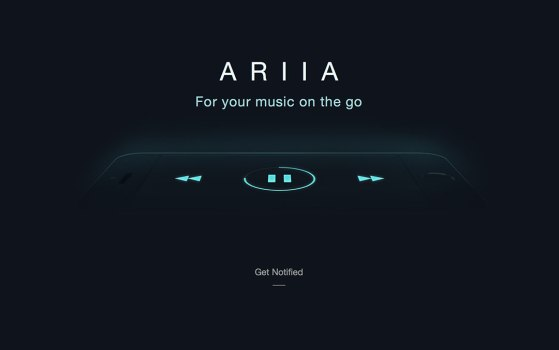 ariia mysterious music website