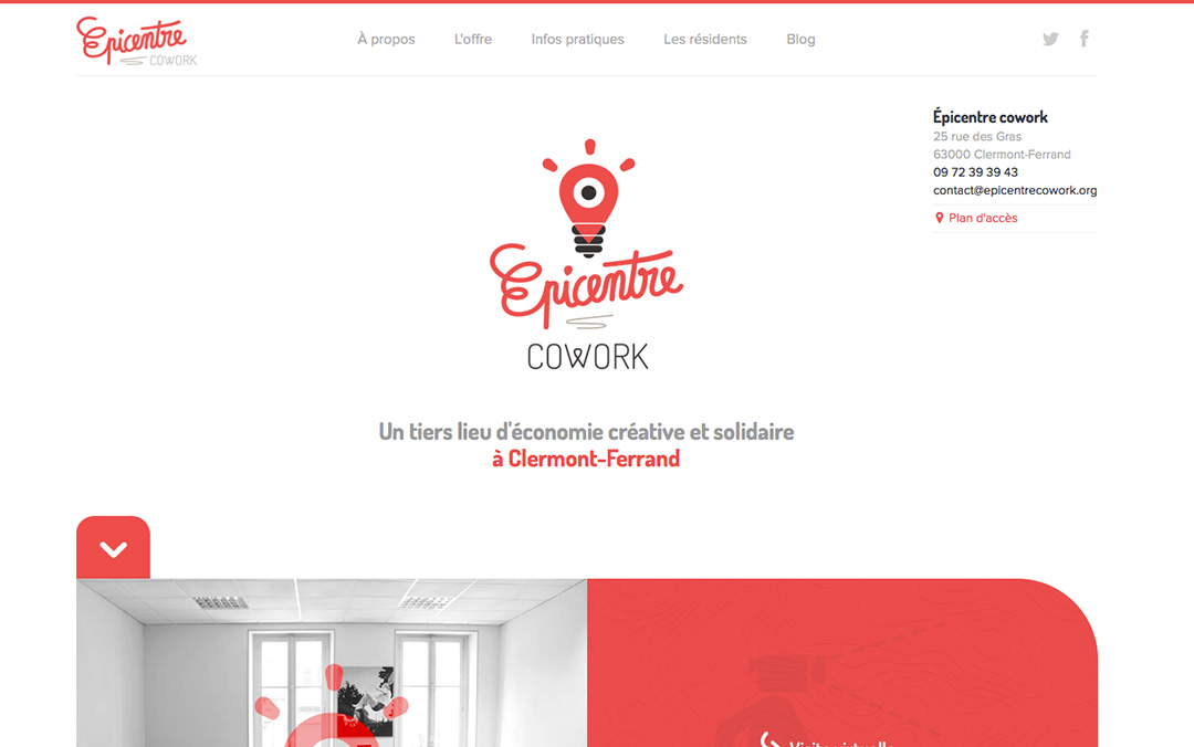responsive one page lander