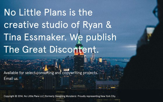 no little plans company website