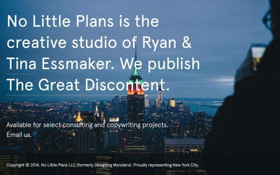 no little plans company website