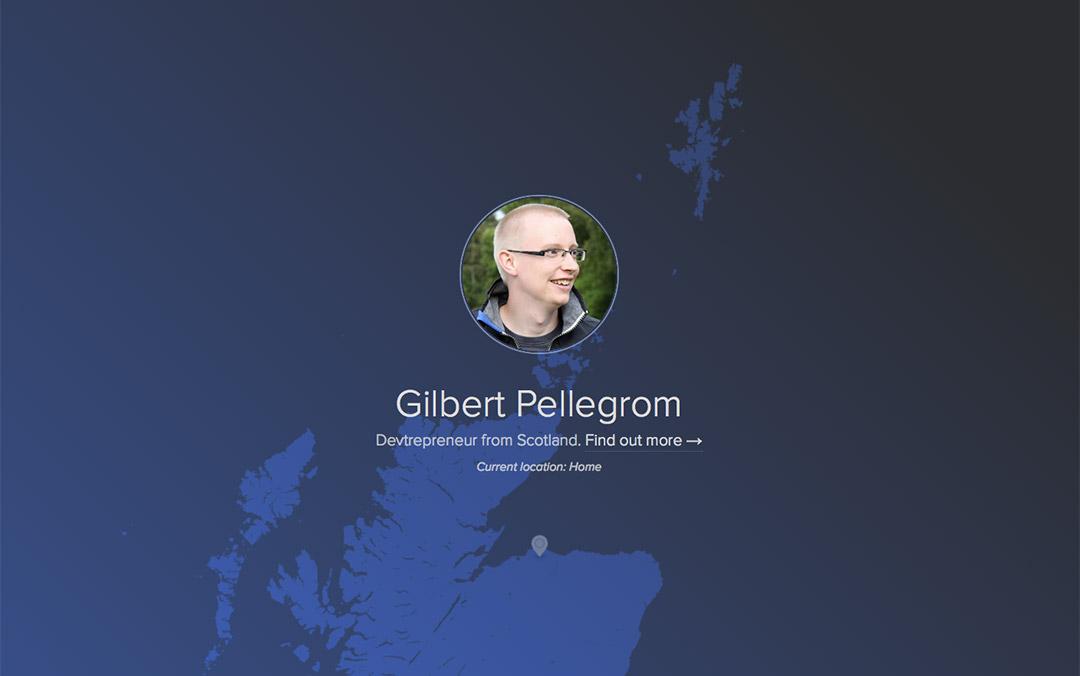 Gilbert Pellegrom front end developer