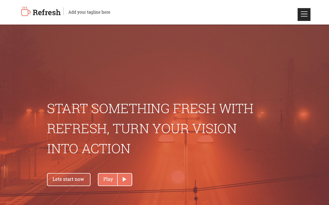 refresh one page websites
